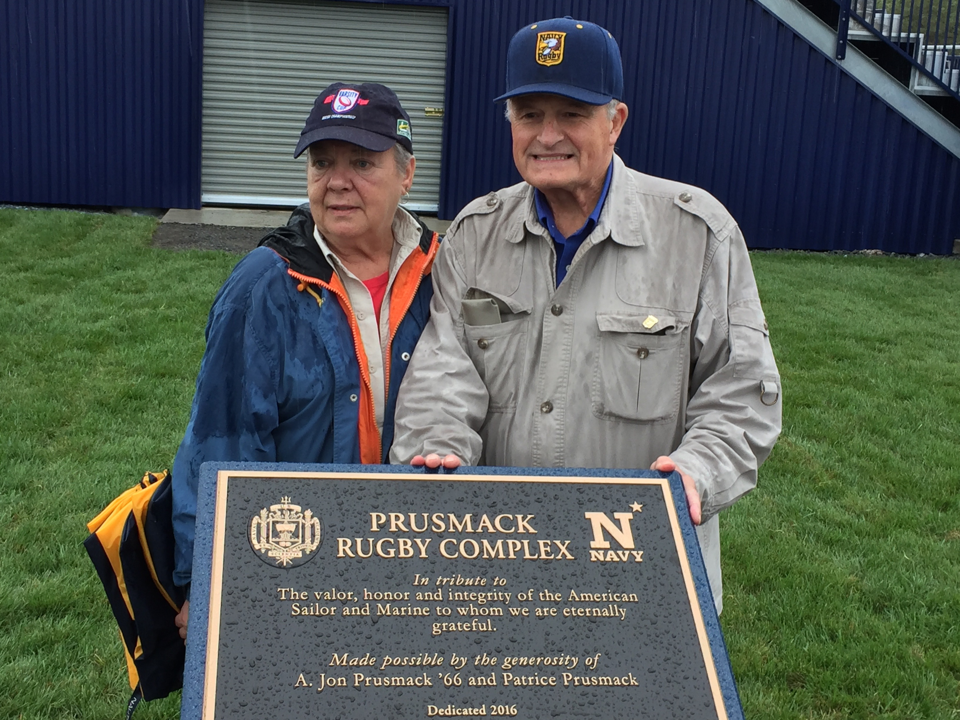04b111de119 Prusmack Rugby Complex Dedication at U.S. Naval Academy + USA Sevens Expands