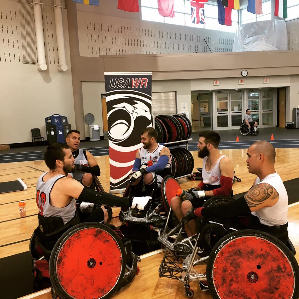 Uno Wheelchair College Tournament: USA Wheelchair Rugby 2-0 To Open Tri Nations Wheelchair